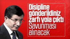 Ahmet Davutoğlu'nun savunması bekleniyor