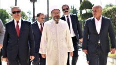 Diyanet İşleri Başkanı Prof. Dr. Ali Erbaş, İl Buluşmaları kapsamında Mersin'de