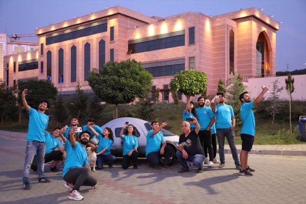 Bartın Üniversitesi elektrikli otomobiliyle yarışmaya hazır