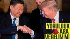Çin ve ABD'den ticaret savaşlarına ara verelim çağrısı