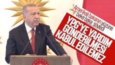 Cumhurbaşkanı Erdoğan, ABD heyetini kabul etti