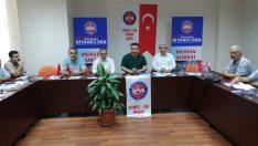 Mersin' de Diyanet-Sen İl ve İlçe başkanları ve yönetim kurulu istişare toplantısı yapıldı