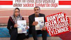Diyarbakır'da oturma eylemine İranlı aileler katıldı