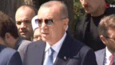 Erdoğan, Abdülhakim Sancak Camii'nin açılışını yaptı