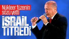Erdoğan'ın nükleer silah açıklaması İsrail'in gündeminde