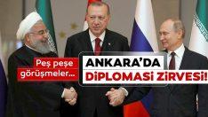 Rusya Devlet Başkanı Putin Ankara'da! Başkan Erdoğan, Putin ile görüştü