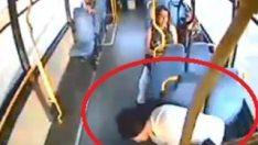 Halk otobüsü sürücüsü, hamile kadını hastaneye yetiştirdi