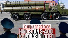 Hindistan S-400 sisteminin ilk avans ödemesini yaptı