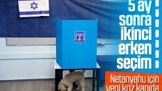 İsrail'de seçim günü