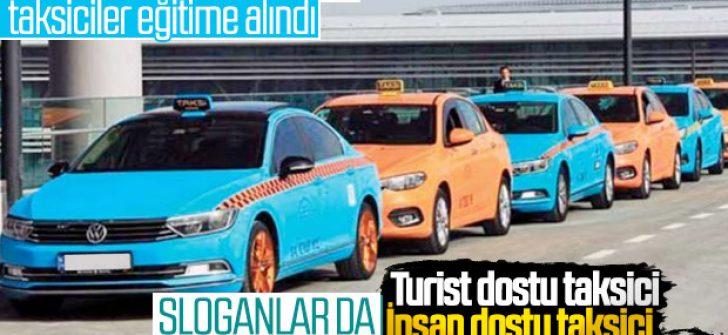 İstanbul Havalimanı'ndaki taksicilere eğitim
