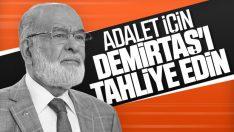 Karamollaoğlu, Demirtaş'ın tahliyesini savundu