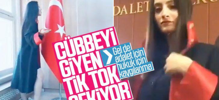 Mahkeme salonunda TikTok videoları tepki çekti