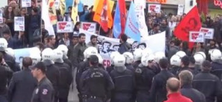Mersin'de gösteri ve yürüyüşlere 15 gün yasak