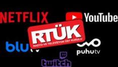 Netflix'in de dahil olduğu birçok platform RTÜK'e başvuru yaptı