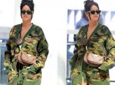 Rihanna'nın komando tarzı