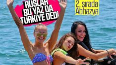 Rusların tatil tercihi Türkiye