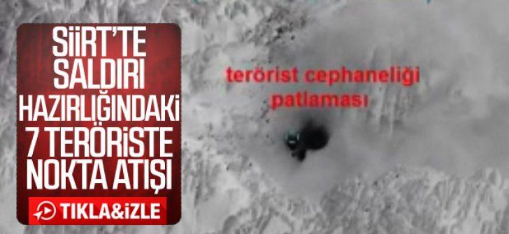 Siirt'te 7 terörist etkisiz hale getirildi