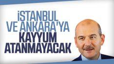 Süleyman Soylu'ndan İstanbul'a kayyum açıklaması