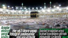 Suudi Arabistan umre ziyaretine ek vergi
