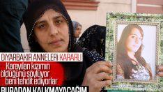 Tehditlere rağmen anneler HDP önündeki eylemini sürdürüyor