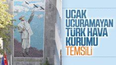 Türk Hava Kurumu, Atatürk mozaiğini yeniledi