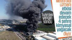 Tuzla'daki yangın 4 şehri etkileyecek