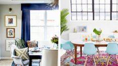 Yemek odanızı yeniden düzenlemek için 10 muhteşem yol