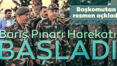 Barış Pınarı harekatı başladı; Haydi Bismillah!