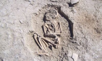 5 bin 700 yıllık çocuk iskeleti