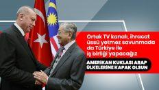 Zırhlı araç üretiminde Malezya ile Türkiye birlikte çalışacak