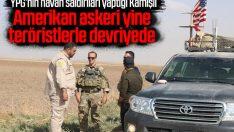ABD ordusu, YPG ile Kamışlı'da yine devriyede
