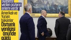 ABD-Yunan bakanları Osmanlı yenilgisini alaya aldı