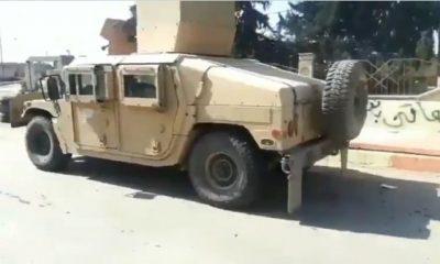 ABD'nin YPG'ye verdiği Hummer'lar