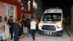 Adana'da şüpheli şahıs kaçarken evin damından düştü