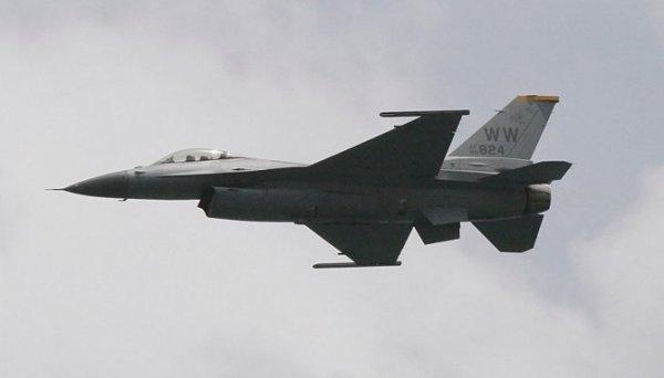 Almanya'da ABD'ye ait savaş uçağı düştü