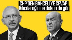 Bahçeli'nin sözlerine CHP'den yanıt