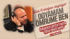 Bilal Erdoğan, nihavent makamından şarkı söyledi