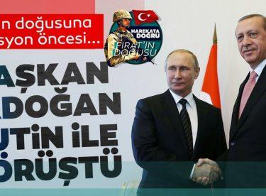 Başkan Erdoğan,Putin ile görüştü