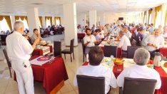 Diyanet-Sen Mersin Şubesi üyeleri ve aileleriyle birlik öğle yemeğinde bir araya geldiler