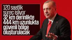 Cumhurbaşkanı Erdoğan: 120 saatlik süreç işliyor