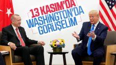 Cumhurbaşkanı Erdoğan, 13 Kasım'da Trump'la görüşecek