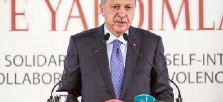 Cumhurbaşkanı Erdoğan'dan silah ambargosuna yanıt