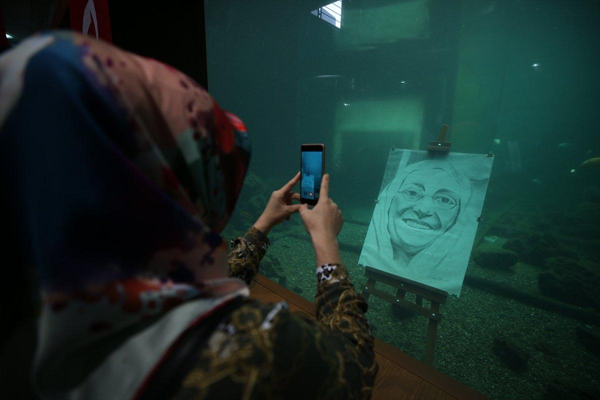 Cumhuriyet ve Mehmetçik temalı resimler su altında