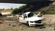 Düzce'de kaza: 2 ölü