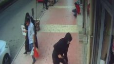 Elazığ'da silahlı saldırı güvenlik kameralarına yansıdı