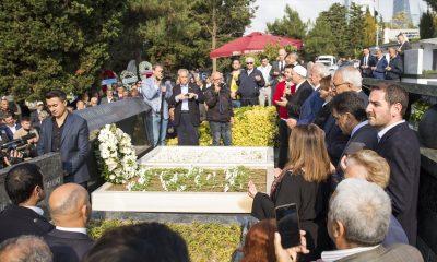 Erdal İnönü mezarı başında anıldı