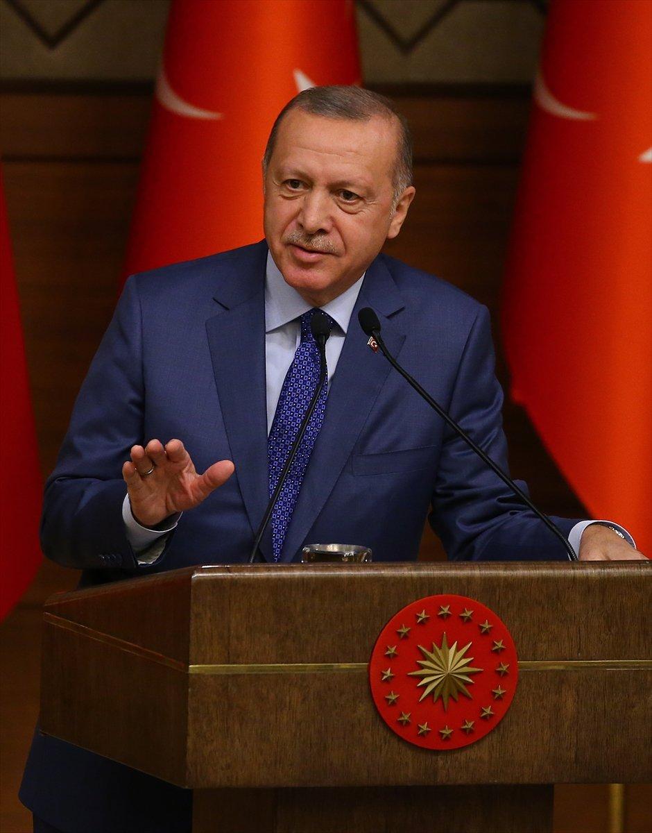 Erdoğan, AB'ye mülteci uyarısını yineledi