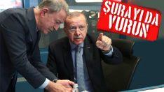 Erdoğan, harekat merkezinde