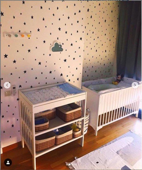 Eser Yenenler'in bebeğinin odası hazır