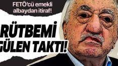 Rütbemi Gülen taktı!